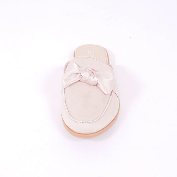 Tex-Time Dame Slippers Med Sløjfe Shoes Pink