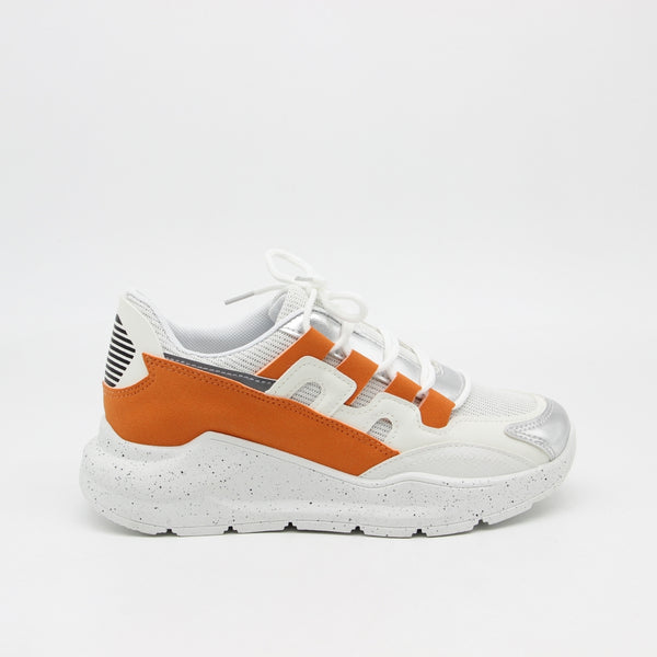 Shoes Dame Sneakers Shoes Orange