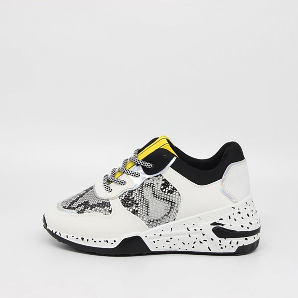 Tex-Time Dame Sneakers Shoes White