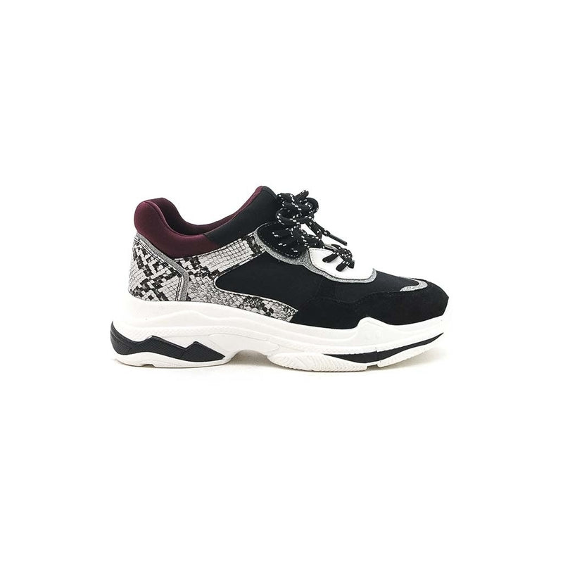 Tex-Time Dame Sneakers Shoes Black