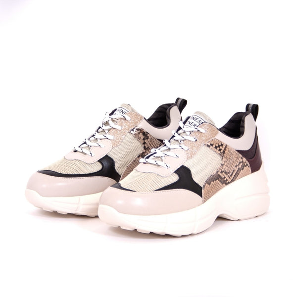 Tex-Time Dame Sneakers Shoes Beige