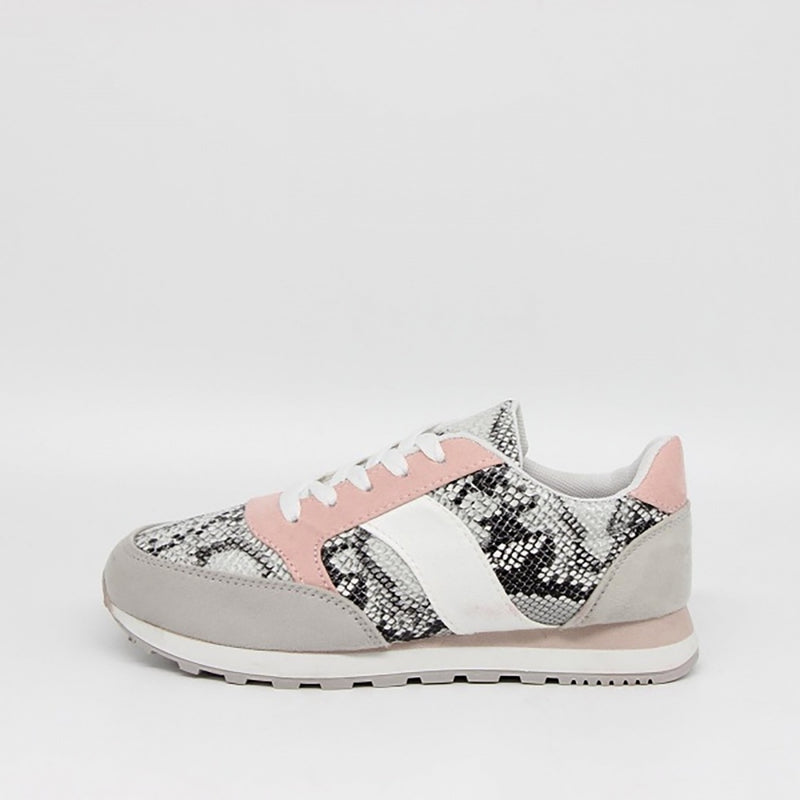 Tex-Time Dame Sneakers Shoes Snake
