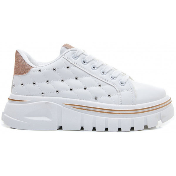 Shoes Dame Sneakers 2055 Shoes Champagne