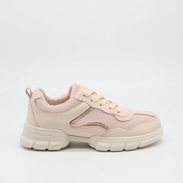 Shoes Dame Sneakers 3157 Shoes Pink