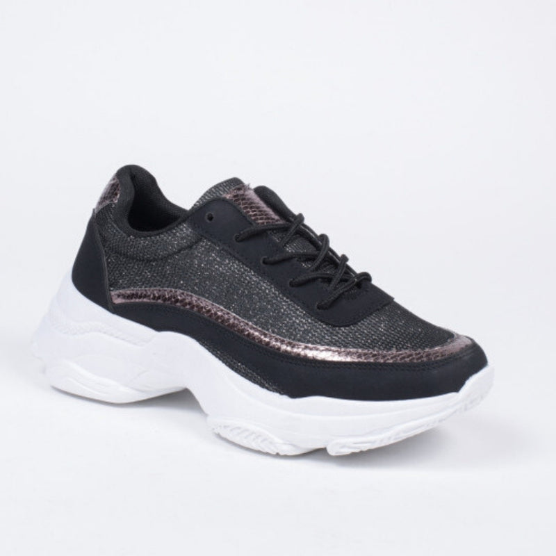 Shoes Dame Sneakers 3178 Shoes Black
