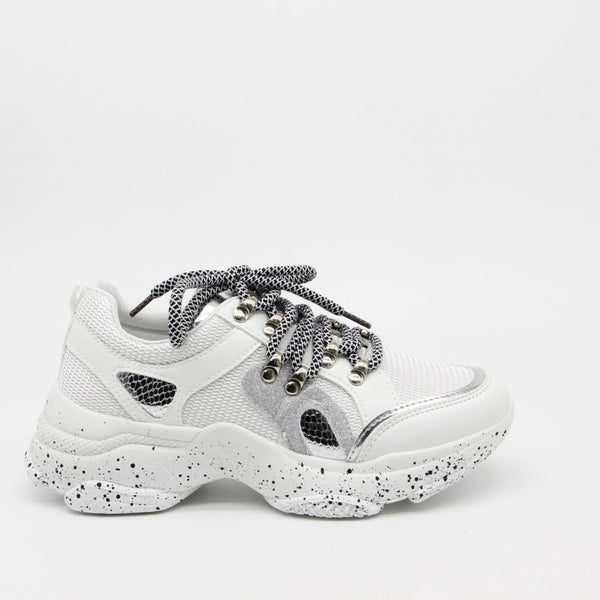 Shoes Dame Sneakers 3189 Shoes White