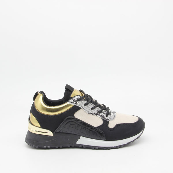 Shoes Dame Sneakers 3195 Shoes Black