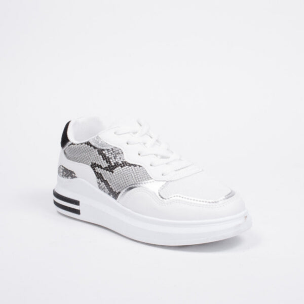 Shoes Dame Sneakers 3199 Shoes White