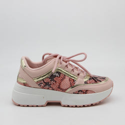 Shoes Dame Sneakers 6102 Shoes Pink