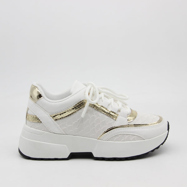 Shoes Dame Sneakers 6102 Shoes White