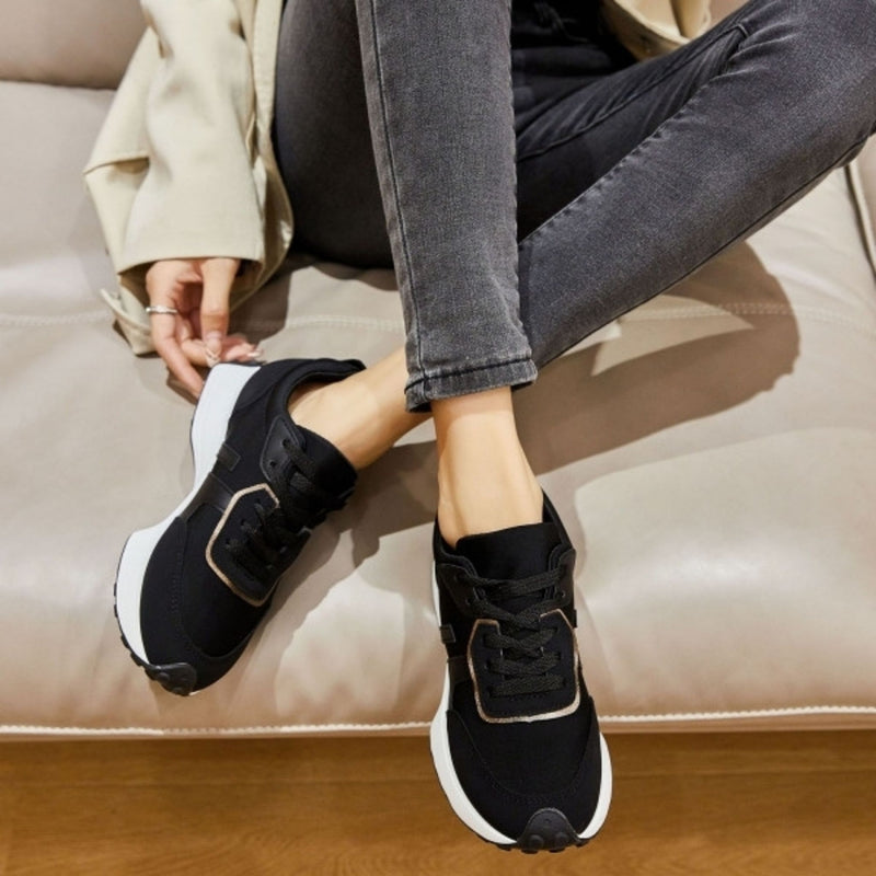 Shoes Dame Sneakers 6117 Shoes Black