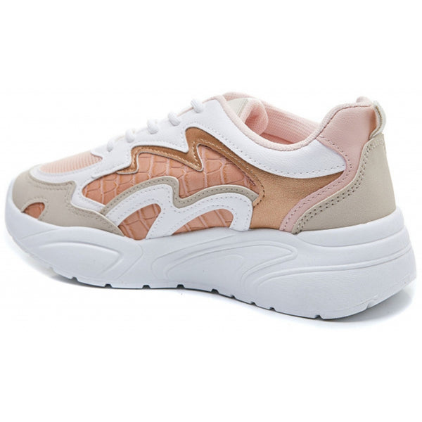 Shoes Dame Sneakers 6150 Shoes Pink