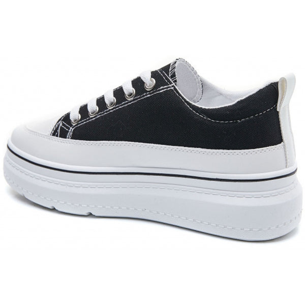 Shoes Dame Sneakers 6151 Shoes Black