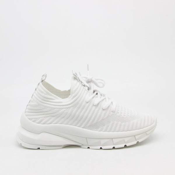 Shoes Dame Sneakers 9792 Shoes White