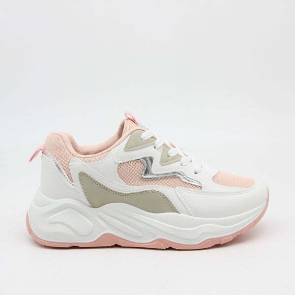 Shoes Dame Sneakers 9793 Shoes Pink