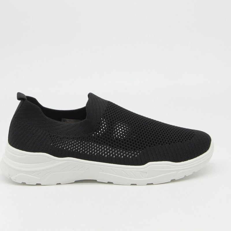 Shoes Dame Sneakers 9865 Shoes Black