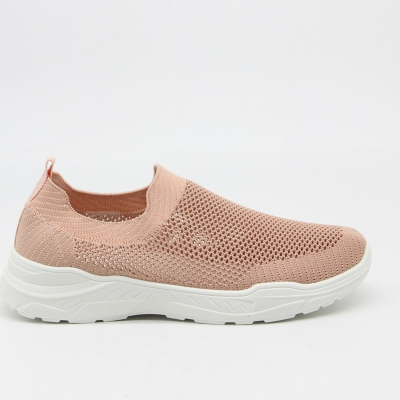 Shoes Dame Sneakers 9865 Shoes Pink