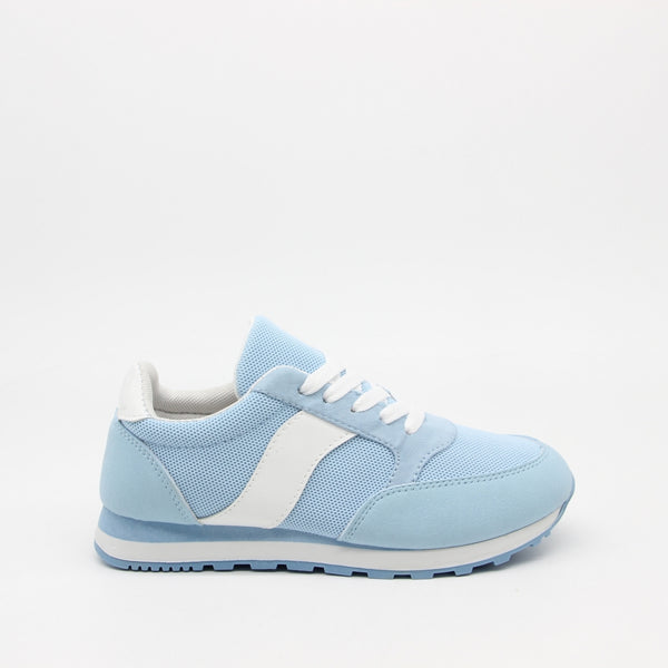Shoes Dame Sneakers C-3149 Shoes Light blue