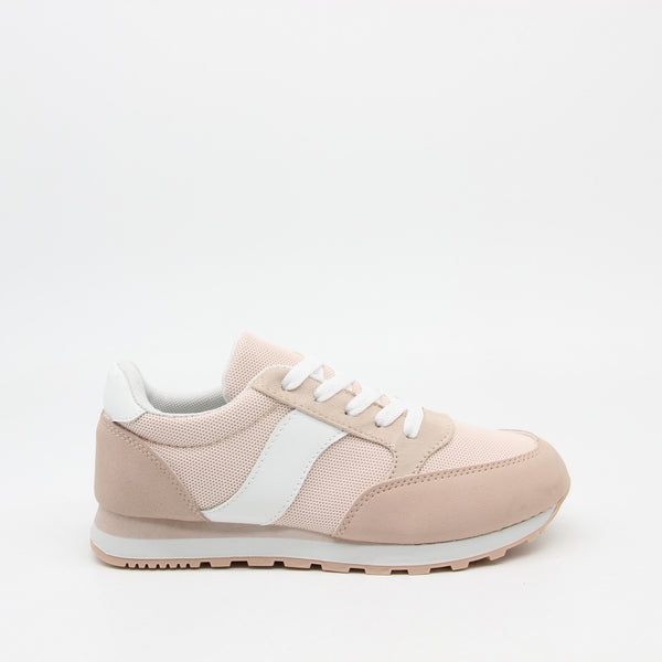 Shoes Dame Sneakers C-3149 Shoes Rose