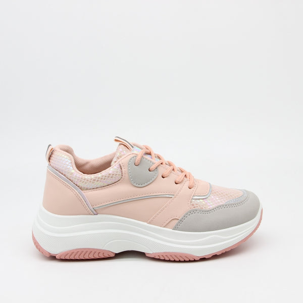 Shoes Dame Sneakers X-9786 Shoes Pink