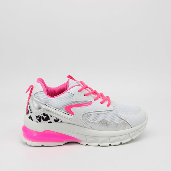 Shoes Dame Sneakers X-9790 Shoes Pink