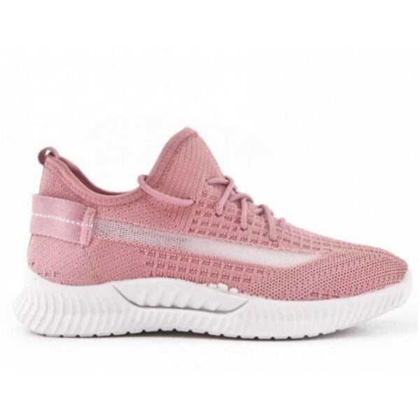Shoes Dame Sneakers ZK080 Shoes Pink