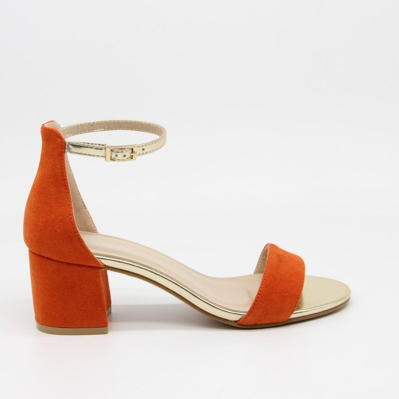 Shoes Dame Stiletter J-8717 Shoes Orange