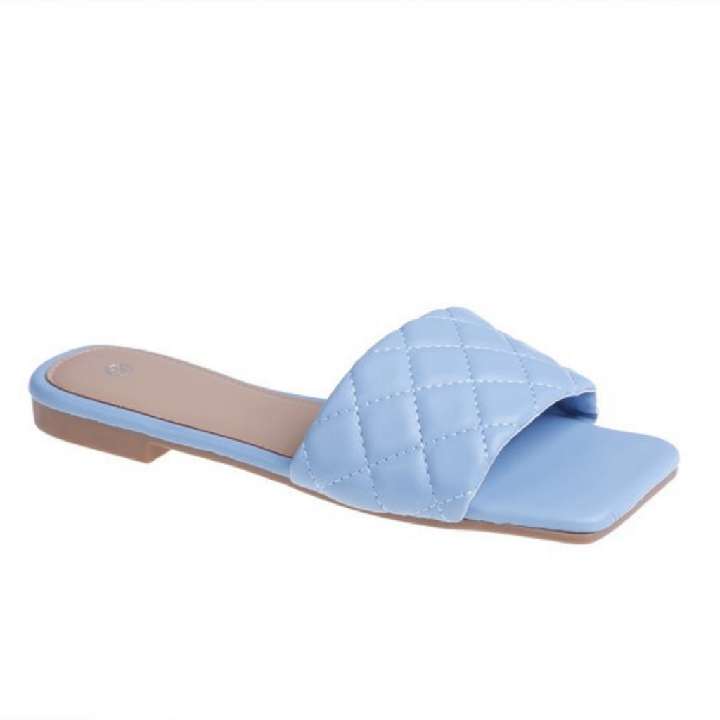 Dame slippers 55-49 - Blue