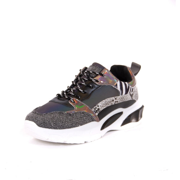 Tex-Time Dame sneakers RT713 Shoes Black
