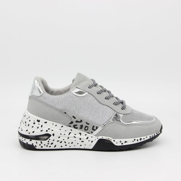 Tex-Time Dame sneakers c3148 Shoes Grey