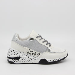 Tex-Time Dame sneakers c3148 Shoes White