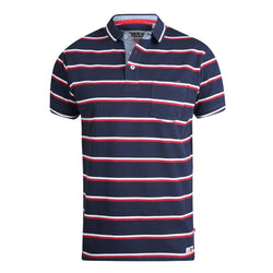 Duke Clothing Duke D555 Herre polo Holmes 1 Polo Navy