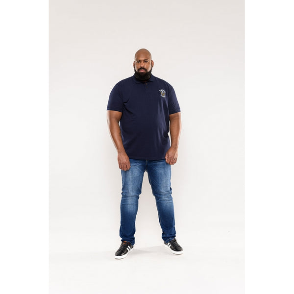 Duke Clothing Duke D555 herre polo LEROY Plussize Herre Navy