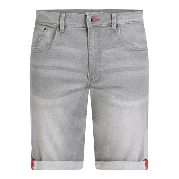 Duke Clothing Duke D555 herre shorts Griffin 2 PLUS Shorts Grey