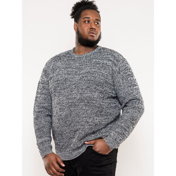 Duke Clothing Duke D555 herre strik joey Plussize Herre Grey
