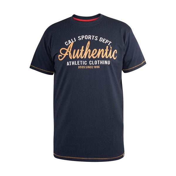 Duke Clothing Duke D555 herre tee Jasper T-shirt Navy