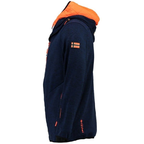 Geographical Norway Fleecetrøje Herre GEOGRAPHICAL NORWAY  URSIN Fleece Navy