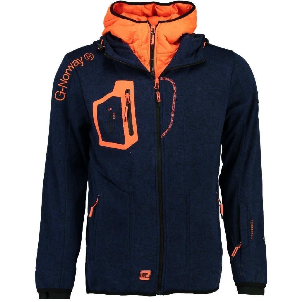 Image of   Fleecetrøje Herre GEOGRAPHICAL NORWAY URSIN - Navy - M