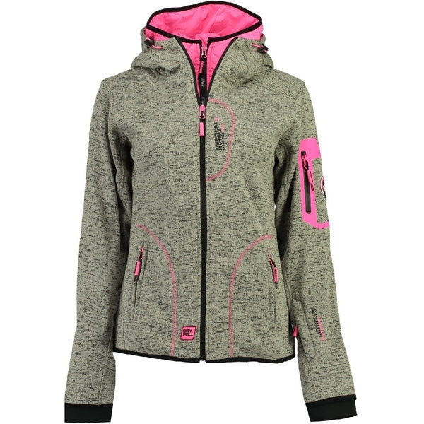 Geographical Norway GEOGRAPHICAL NORWAY Fleecetrøje Dame TSASIKI LADY Fleece Grey