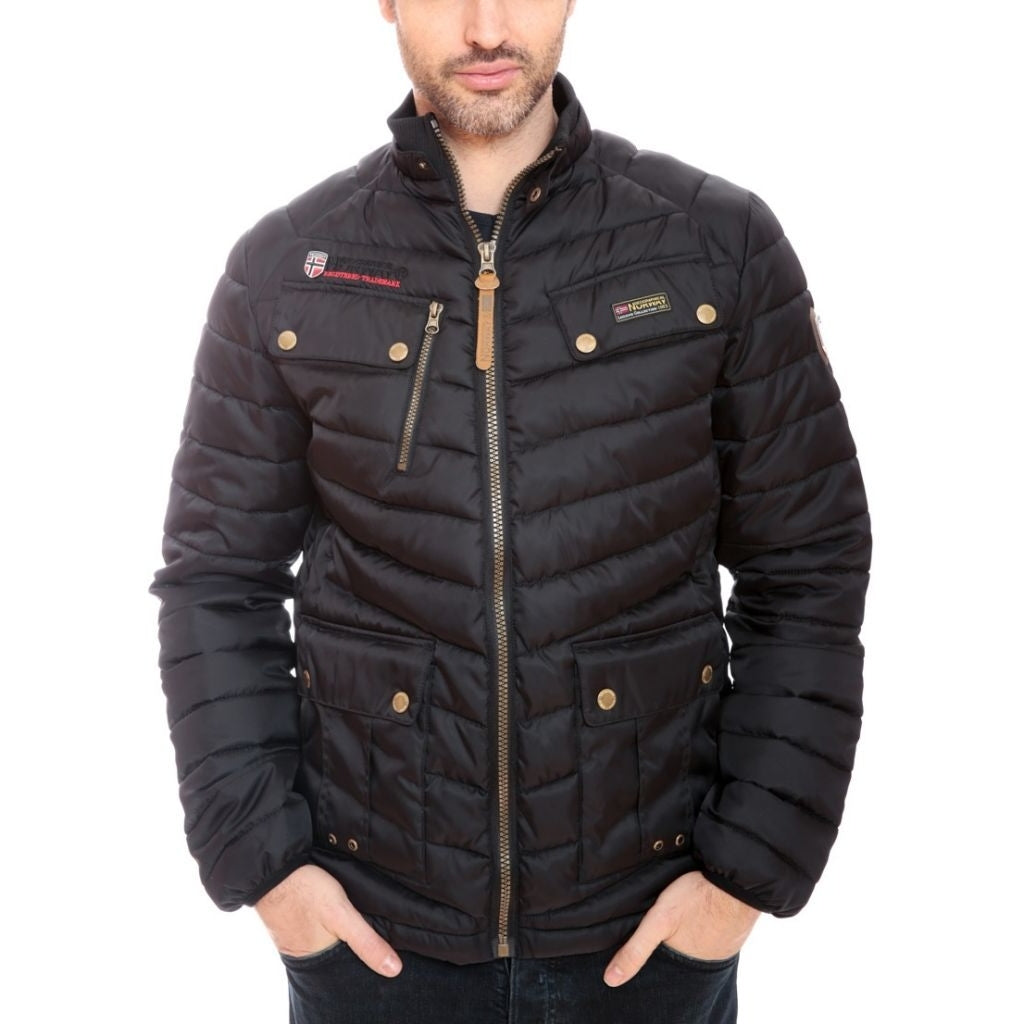 Geographical Norway GEOGRAPHICAL NORWAY HERRE VINTERJAKKE ARIE Winter jacket Black