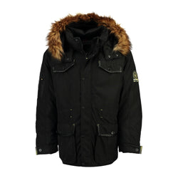 Geographical Norway GEOGRAPHICAL NORWAY Herre Jakke AKOME Winter jacket Black