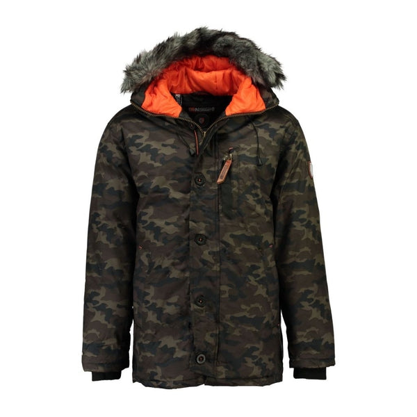 Geographical Norway GEOGRAPHICAL NORWAY Herre Vinterjakke CAMO DARWIN Winter jacket CAMO KAKI