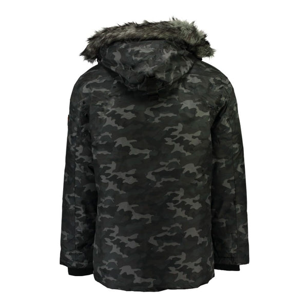 Geographical Norway GEOGRAPHICAL NORWAY Herre Vinterjakke CAMO DARWIN Winter jacket Camo Navy