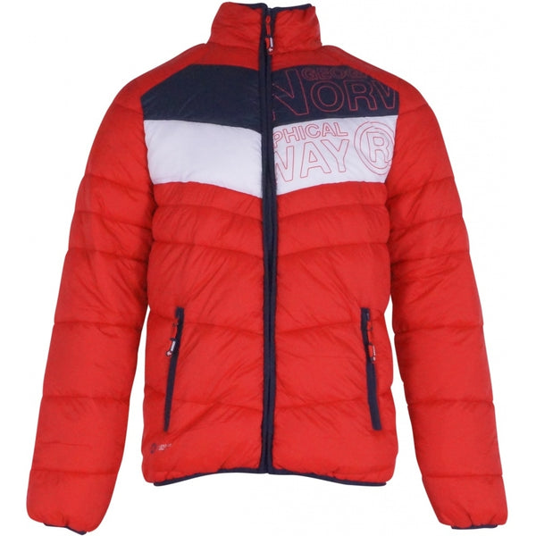 Geographical Norway GEOGRAPHICAL NORWAY Jakke Herre BRED Winter jacket Red