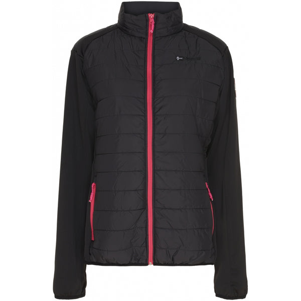 Geographical Norway GEOGRAPHICAL NORWAY Overgangs jakke Dame Beatrice Spring jacket Black - Pink