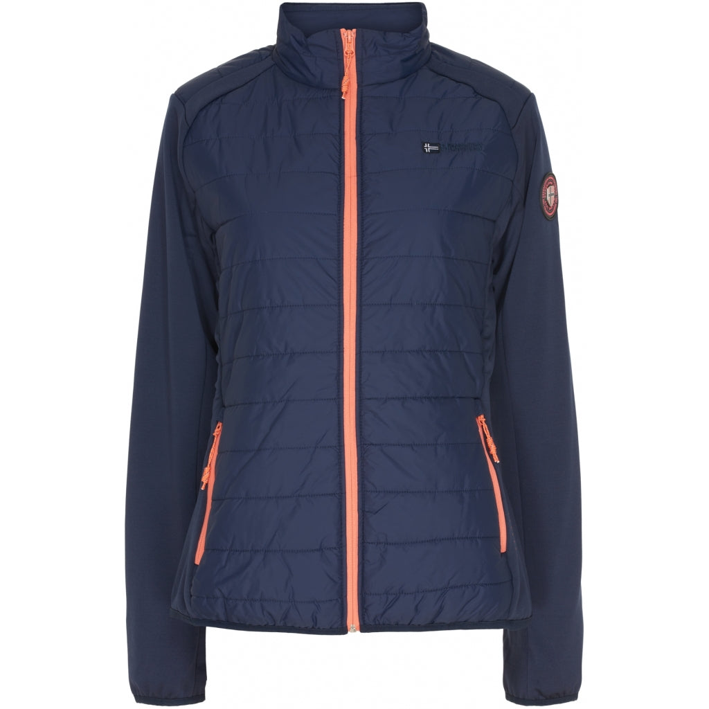 GEOGRAPHICAL NORWAY Overgangs jakke Dame Beatrice - Navy - Coral