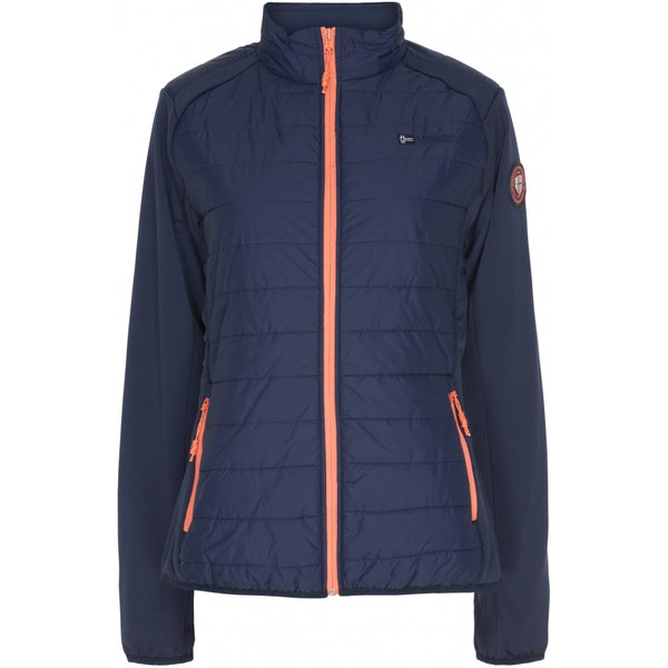 Geographical Norway GEOGRAPHICAL NORWAY Overgangs jakke Dame Beatrice Spring jacket Navy - Coral