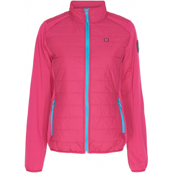 Geographical Norway GEOGRAPHICAL NORWAY Overgangs jakke Dame Beatrice Spring jacket Pink - Turkis