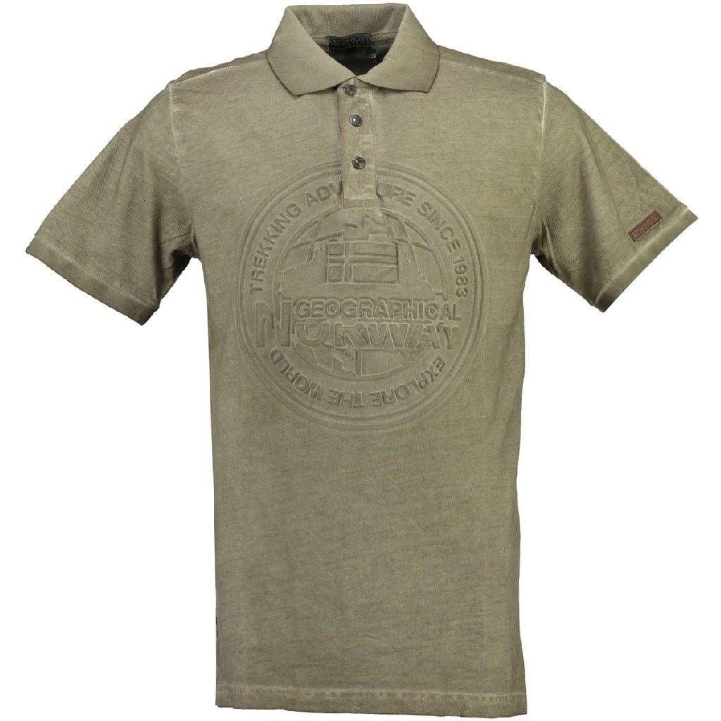 GEOGRAPHICAL NORWAY POLO Herre KARILLON - Beige