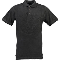 Geographical Norway GEOGRAPHICAL NORWAY POLO Herre KARILLON Polo Dark Grey